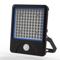 Small angle 60° 100W LED PIR Floodlights IP66 High lumen, Long life Manufactures