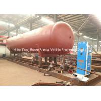 50000L LPG Gas Tank Skid Mounted , Propane Gas Tank For Mobile Gas Refilling Manufactures