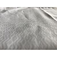 T/C 57/8 Width Jacquard Yarn Dyed Cotton Fabric  For Clothes / Mens Shirt Apparel Manufactures