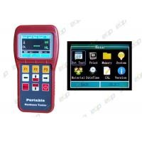 Metal Portable Brinell Hardness Tester With Starting Value Calibration Function Manufactures