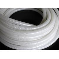 China Fiber Braided Reinforced Silicone Hose / Medical Grade Braided Flexible Hose on sale