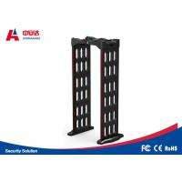 Foldable Multi Zone Metal Detector 2 Years Warranty With Automatic Counting Function Manufactures