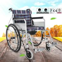 Easy Operation Lightweight Manual Wheelchair For Disabled People OEM Available Manufactures