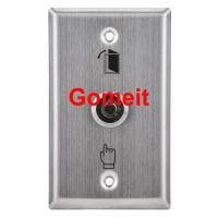 Stainless Steel Door Exit Button with keys Manufactures