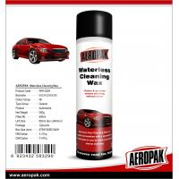 AEROPAK 500ML aerosol spray can Waterless Cleaning Wax for car cleaning Manufactures