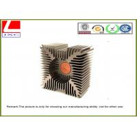 Customize anodized heatsink / Aluminum Heat Sink profile for auto engine Manufactures