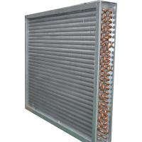 China High Efficiency Aluminum Fin Heat Exchanger / Copper Pipe Fin Fan Condenser on sale