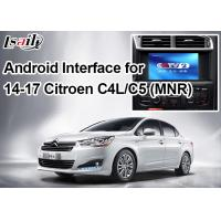 Android Navigation Video Interface for Citroen , Google Market / Google Map / WiFi / 3G Manufactures