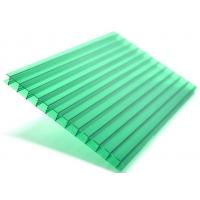 Uv Coated Multilayer Polycarbonate Sheet Roof Customized 10 Years Warranty Manufactures