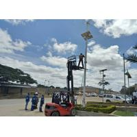 Green Power Solar Panel Street Lights With 30W LED Full Set Lighting Power System Manufactures