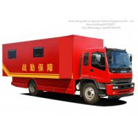 ISUZU Outdoor Mobile Camping Truck With Living Room Manufactures