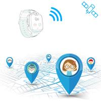 2G Real Time Personal Gps Tracker , Kids GPS Tracker Watch 400Mah Battery Capacity Manufactures