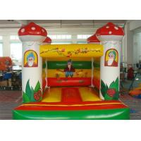 Mushroom Inflatable Bouncer , Colorful Inflatable Amusement Equipment Manufactures