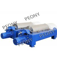 PLC Controlled 3 Phase Plant Oil Extraction Decanter Centrifuge Machine Manufactures