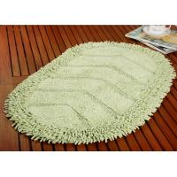 Quality Absorbent Cheap Microfiber Bathroom Mat Anti-Slip Shaggy Surface Modern Style for sale