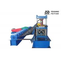Metal Highway Guardrail Roll Forming Machine Steel Structure With PLC Control System Manufactures