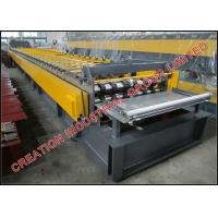 Cold Formed Corrugated Steel Floor Deck Plate Manufacturing Machine from Reliable China Supplier Manufactures