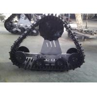 High Running Speed Auto Track System 800mm Length With Low Ground Pressure Manufactures