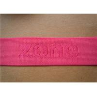 Embroidered Ribbon Trim Adjustable Heavy Duty Webbing Straps For Chairs Manufactures
