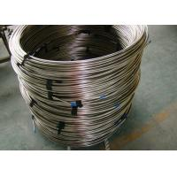Coiled Round Steel Tubing / Thin Wall Steel Tubing Welded / Seamless Manufactures