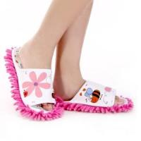 Buy cheap Microfiber Slippers with Flower (QH-2954) from wholesalers