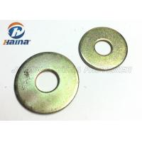 Round Head Flat Washers A Type , Flat Steel Washers For Mechanical Machine Manufactures
