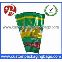 Custom Made Side Gusset Coffee Packaging Bags With Vacuum Seal Manufactures