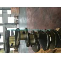6d95 Cast Iron Crankshaft  6 Cylinder Engine Parts , Engine Crank Shaft Original Size Manufactures