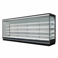 5 Adjustable Shelves Supermarket Refrigeration Equipment For Dairy And Food Merchandising Manufactures