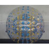 Durable PVC Tarpaulin Inflatable Zorb Ball Trace For Commercial Use Manufactures