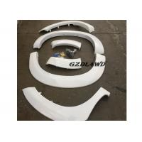 White Painted Hilux Vigo Fender Flares 4WD Accessories / Vigo Wheel Arch Trim Manufactures