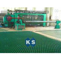 High Corrosion Hexagonal Wire Netting Machine For Making Stone Cage 2x1x1m Manufactures