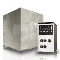 Adjustable Temperature Horizontal Flammability Tester For Integrity Testing 1KW Manufactures