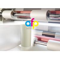 Quality Anti Scratch BOPP Thermal Lamination Film Roll , Multiple Extrusion BOPP Rolls for sale