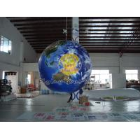 1.5m Giant Full Digital Printed Earth Balloons Globe with Good Elastic for Sporting events Manufactures