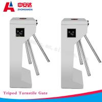 RFID Vertical Full Automatic Tripod Turnstile GB304 Stainless Steel Security Access Control Barrier Gate Manufactures
