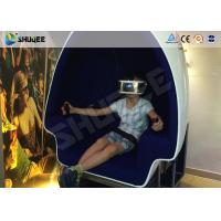 Quality No Need To Install 2 Motion Egg Seats 9D VR Cinema Virtual Reality for sale