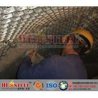 """1""""thickness Hexmesh for refractory linings 
