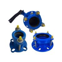 Durable Male Female Flange Cast Iron Pipe Fittings Flexible Coupling Flange Manufactures