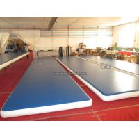 Good Airtightness Inflatable Air Tumble Track / Inflatable Gym Mats Manufactures