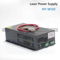 120W CO2  laser power supply  HY-W120 for CO2 laser cutter machine 100W 120W laser tube Manufactures