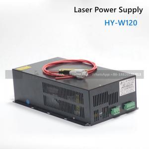 120W CO2  laser power supply  HY-W120 for CO2 laser cutter machine 100W 120W laser tube