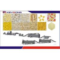 China 3d Pani Puri Snack Pellet Production Line Extruder Large Capacity 100 - 120kg / H Output on sale