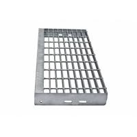 China Trash Rack Hot Dip Galvanized Steel Grating Easy To Install With Long Service on sale