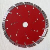230mm 5  / 7 Inch  Diamond Segmented Circular Saw Blades  To Cut Brick Turbo Manufactures