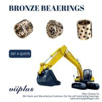 Cast Bronze Sleeve Bushing Replacement Aluminum Bronze Self Lube Bearings Manufactures