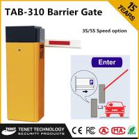 Best Price For AC220V Heavy Duty Auto Car Park Barriers For Vehicle Control System Manufactures