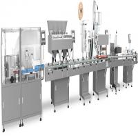 Integrated Filling Production Line Touch Screen Operation Fit Tablets / Capsules / Pills Manufactures