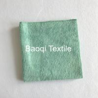 China Light green size 40*40cm microfiber towel polyester plain cleaning towel/ wholesale microfiber towel for kitchen on sale
