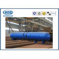 Anti Wind Pressure Induction Steam Drum For Power Station CFB Boiler Manufactures
